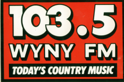 Country 103.5 WYNY New York Dan Daniel Randy Davis